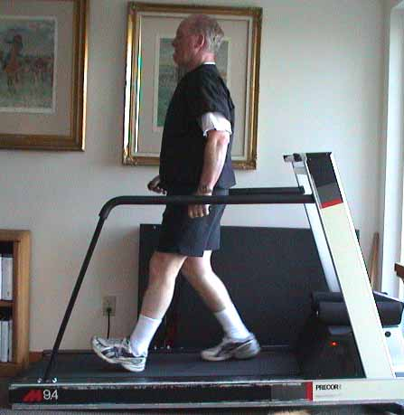 treadmill walk