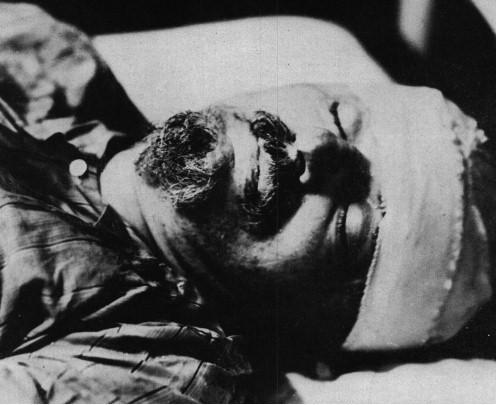 Leon Trotsky...dead.