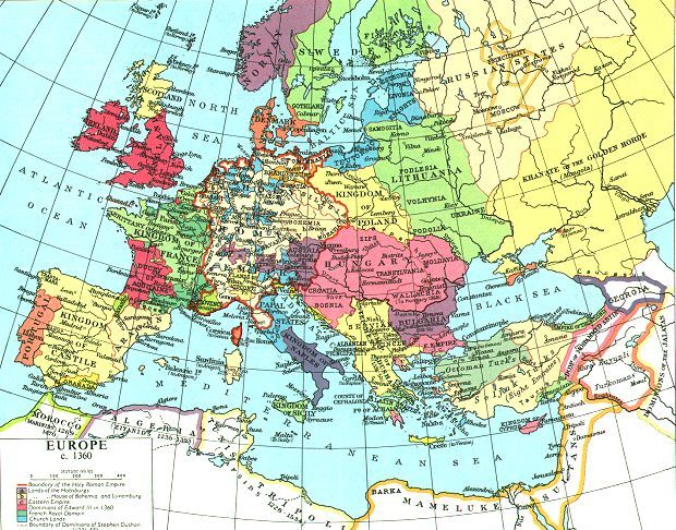 protestant reformation map. map protestant v catholic